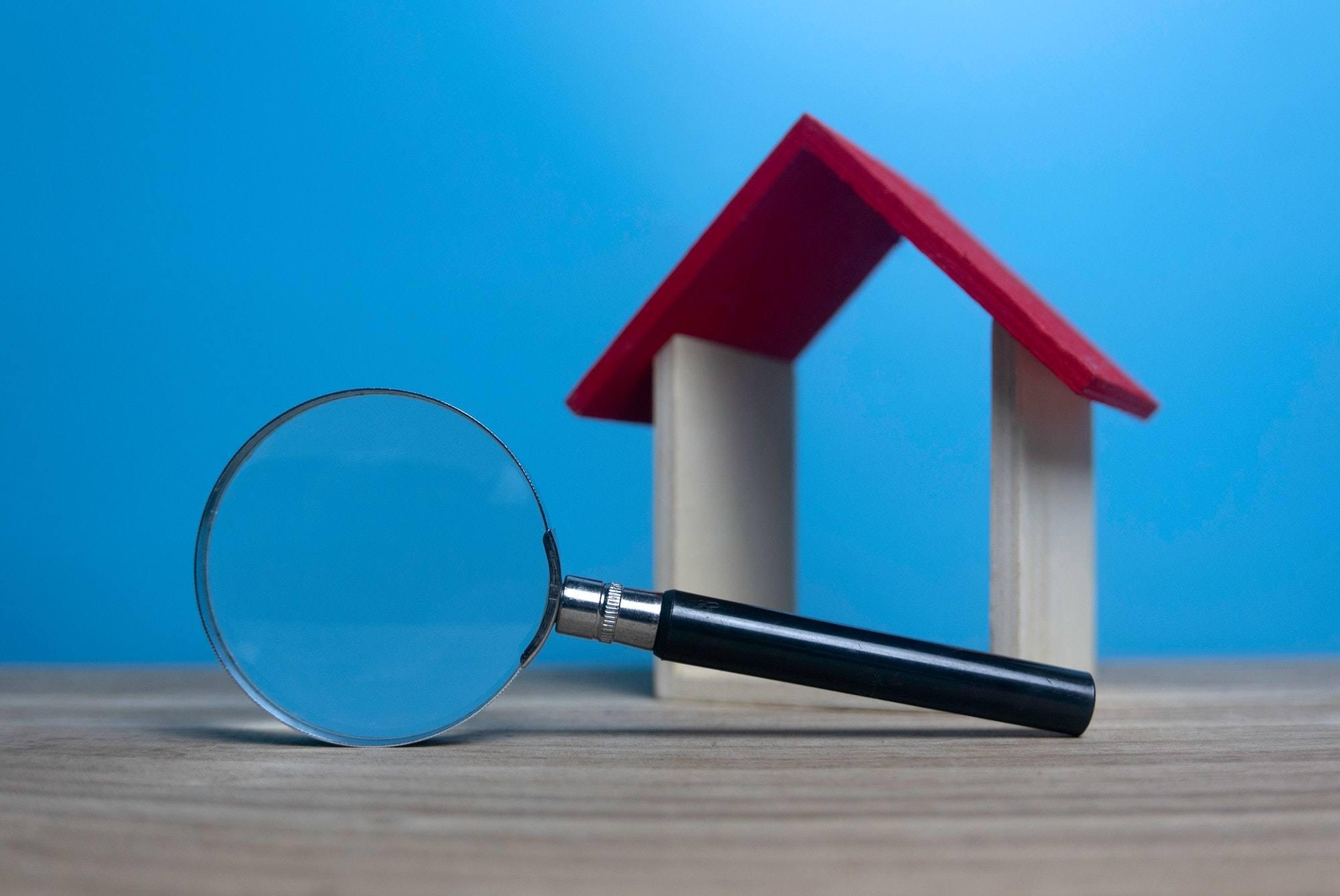 Real estate search concept